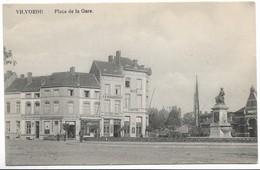 CPA PK  VILVORDE  PLACE DE LA GARE - België