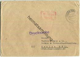 Brief Aus Calbe (Saale) Vom 13.11.1945 Mit 'Gebühr Bezahlt.' Stempel B5e In Rot - Zone Soviétique