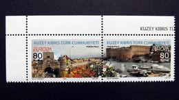 Zypern Türk. 757/8 **/mnh, EUROPA/CEPT 2012, Besuche - Cyprus (Turkey)