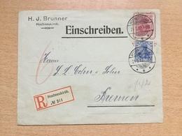 FL2851 Deutsches Reich Ganzsache Stationery Entier Postal Privatumschlag Von Hochneukirch - Germany