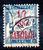 Zanzibar  Sansibar Y&T Taxe 1° - 3° - Zanzibar (1894-1904)