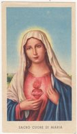 Santino D'epoca, Holy Card - Sacro Cuore Di Maria - Ed.G.Mi Isonzo 129 Bis, Image Pieusse, Vedi Fronte/retro. - Devotieprenten