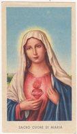 Santino D'epoca, Holy Card - Sacro Cuore Di Maria - Ed.G.Mi Isonzo 129 Bis, Image Pieusse, Vedi Fronte/retro. - Santini