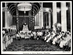 1930  --  INDOCHINE PHNOM PENH  INAUGURATION DU L INSTITUT BOUDDHIQUE  3P840 - Old Paper