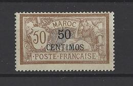 MAROC. YT  15   Neuf *  Valeur En Monnaie Espagnole En Surcharge  1902 - Morocco (1891-1956)
