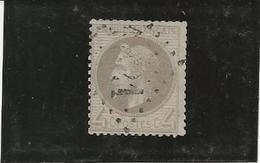 NAPOLEON III LAURE N° 27 A OBLITERE - TB - ANNEE 1863 - COTE : 90 € - 1863-1870 Napoleon III With Laurels