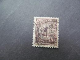 DR Nr. 323AWa, 1923, Gestempelt, BPP Geprüft - Germany