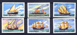 ST-THOMAS ET PRINCE SAO TOME E PRINCIPE 1980, BATEAUX VOILIERS, 6 Valeurs, Neufs / Mint. R264 - Ships