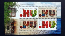 Ungarn 5562/3 Block 347 **/mnh, EUROPA/CEPT 2012, Besuche - Blocks & Sheetlets