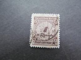 DR Nr. 325BP, 1923, Gestempelt, BPP Geprüft - Germany