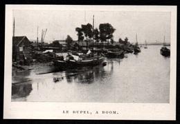 1911  --  BELGIQUE  LE RUPPEL A BOOM  3P843 - Old Paper