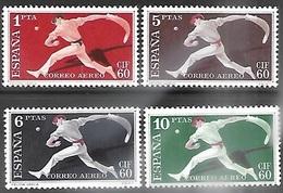 Spain  1960   Sc#C163-6  Airmails  MLH   2016 Scott Value $19 - Nuevos & Fijasellos