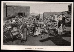 1911  --  BELGIQUE  SERAING  HIERCHEUSES   3P849 - Old Paper