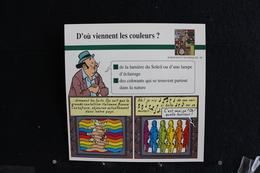 Fiche Atlas,TINTIN (extrait De, Les Bijous De La Castafiore) - Sciences Et Techniques N°80 D'où Viennent Les Couleurs ? - Sammlungen
