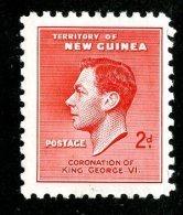 2437x)  Papua New Guinea 1937 - SG # 208  Used ( Catalogue £.50 ) - Papua New Guinea