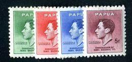 437 )  Papua SG.#154-57 Mint*  Offers Welcome - Papoea-Nieuw-Guinea