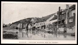 1911  --  BELGIQUE  DOLHAIN  VIEILLES MAISONS SUR LA VESDRE   3P855 - Old Paper