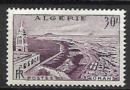 ALGERIE    -   1956  .  Y&T N° 339 *.   Vue D' Oran. - Argelia (1924-1962)