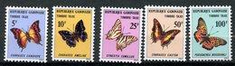Gabon, Yvert Taxe 46/T50, Scott J46/50, MNH - Gabon (1960-...)