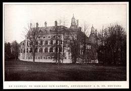 1911  --  BELGIQUE  CHATEAU DE MONCEAU SUR SAMBRE A M ED. HOUTARD   3P856 - Old Paper