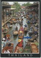 Thailand AIR MAIL Postcard Via Macedonia - Thaïlande