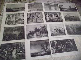 LOT DE  24 CARTES ART ..TABLEAUX..PEINTURES - Cartes Postales