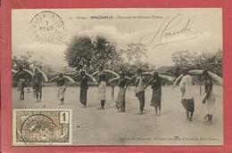 BRAZZAVILLE Caravane De Porteurs D'Ivoire / Chasse - Congo Français - Autres