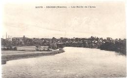23576. DECIZE .  LES BORDS DE L'ARON    . CARTE NON ECRITE - Decize
