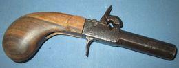 Pistolet De Poche C.1830/50 - Armes Neutralisées