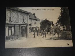 CHATEAUNEUF-LA-FORÊT - VUE CENTRALE - 1908 - Chateauneuf La Foret