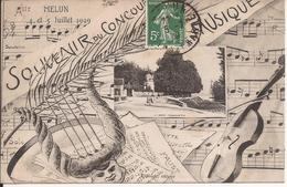 MELUN SOUVENIR DU CONCOURS DE MUSIQUE - Melun
