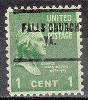 USA Precancel Vorausentwertung Preo, Locals Virginia, Falls Church 704 - Vereinigte Staaten