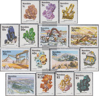 Namibia - Southwest 683x-697x (complete Issue) Unmounted Mint / Never Hinged 1991 Minerals And Mines - Namibia (1990- ...)