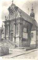 NEVERS . CHAPELLE DE LA VISITATION + CACHET MILITAIRE DU 25-9-1914 AU VERSO . 2 SCANES - Nevers