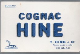 Cognac (16  Charente) Buvard COGNAC HINE  (PPP9326) - Food