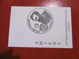 D 80 - Amiens -  17e Salon International De La Carte Postale - 5 Mars 1995 - 90ème Anniversaire De Jules Verne 24 Mars - Amiens