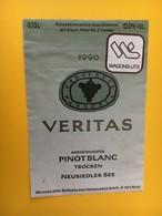8891 - Veritas Pinot Blanc Mönchhofer Autriche Pour Wagons-lits - Trains