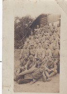 JOLI CARTE PHOTO DE LA FANFARE DU 122 EME REGIMENT - Regiments
