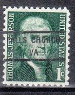 USA Precancel Vorausentwertung Preo, Locals Virginia, Falls Church 846 - Vereinigte Staaten