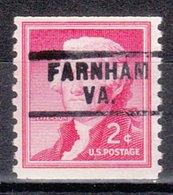 USA Precancel Vorausentwertung Preo, Locals Virginia, Farnham 729 - Vereinigte Staaten
