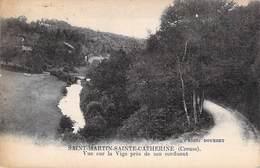 23 , SAINT-MARTIN-SAINTE-CATHERINE , Vue Sur La Vige Près De Son Confluent - Other Municipalities