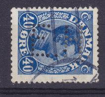 Denmark Perfin Perforé Lochung (T11) 'E.H.' Emil Hertz & Co. A/S, København (2 Scans) - Abarten Und Kuriositäten