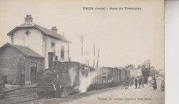 TRUN LA GARE  DU TRAMWAY - Trun