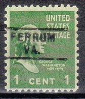 USA Precancel Vorausentwertung Preo, Locals Virginia, Ferrum 729 - Vereinigte Staaten