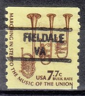 USA Precancel Vorausentwertung Preo, Locals Virginia, Fieldale 841 - Vereinigte Staaten