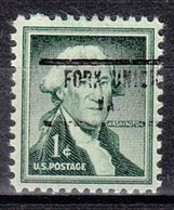 USA Precancel Vorausentwertung Preo, Locals Virginia, Fork Union 734 - Vereinigte Staaten