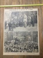 ANNEES 20/30 L ANNIVERSAIRE DE LA BATAILLE DE LA MARNE VILLE DE MEAUX CATHEDRALE PAINLEVE - Collections