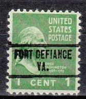 USA Precancel Vorausentwertung Preo, Locals Virginia, Fort Definance 734 - Vereinigte Staaten