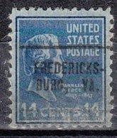 USA Precancel Vorausentwertung Preo, Locals Virginia, Fredericksburg 705 - Vereinigte Staaten