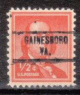 USA Precancel Vorausentwertung Preo, Locals Virginia, Gainesboro 734 - Vereinigte Staaten